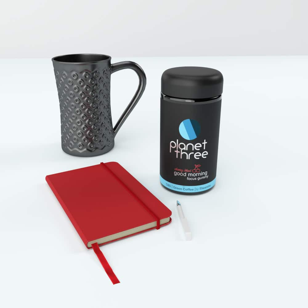 Planet Three Focus Gummy with Coffee